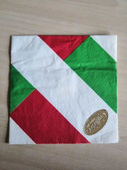Customized Logo Multiple Colors Napkin Papers for Restaurant and Home