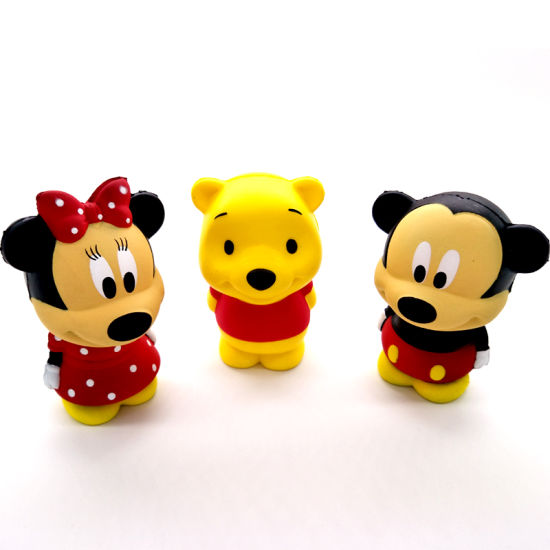 Mickey Series PU Squishy Slow Rising Squishies Toy Kid Gifts