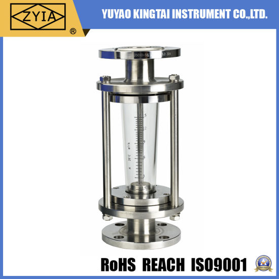 Stainless Steel Variable Glass Area Steam Flow Meter