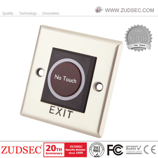 2 x Touch Type Door Release Exit Button Switch NO//NC//COM for Access Control