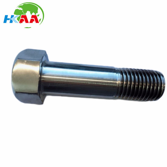 High Performance Super Duplex Stainless Steel Half Threaded Hex Bolt pictures & photos