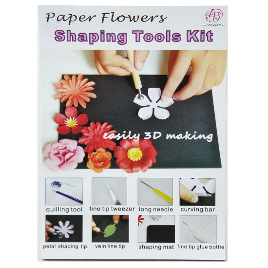 Embossing Tool Kit for Making DIY Paper Flower (DPFT-3) pictures & photos