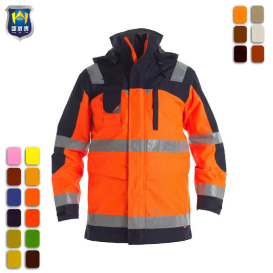 Professional Factory Directly Newest Workwear Hi Vis Jackets