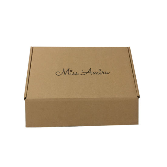 China Black Full Color Flexo Printing Package Boxes with Logo