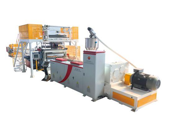 Spc PVC WPC Plastic Lvt Vinyl Flooring Tile Sheet Planks Board Production Extrusion Line Making Machine