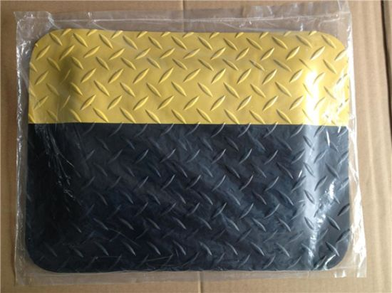 Cleanroom Using 3layers Rubber PVC Anti-Fatigue Mat pictures & photos