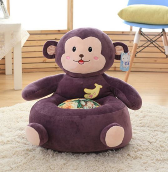 Wholesale Pretty Cute Animal Kids Plush Sofa Chair