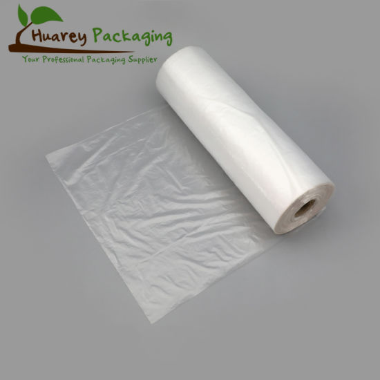 HDPE/LDPE Transparent Clear Plastic Bags on Roll, Produce Roll Bag