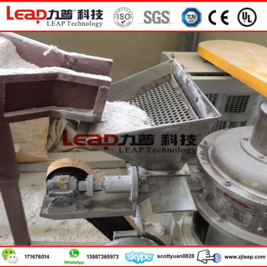 Ce Certificated Amino Pop Conc Grinding Machine with Complete Line pictures & photos