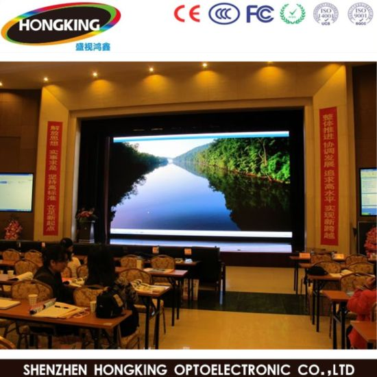 SMD RGB Full Color Indoor P4 Rental LED Display Board