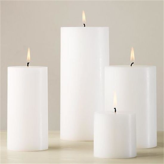 Pillar Candle of White Candle of Pure White Candle