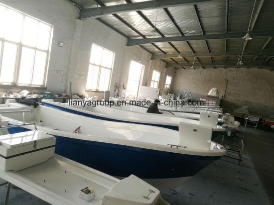 Liya Fishing Boats Manufacturers 19feet Fiberglass Panga Boat