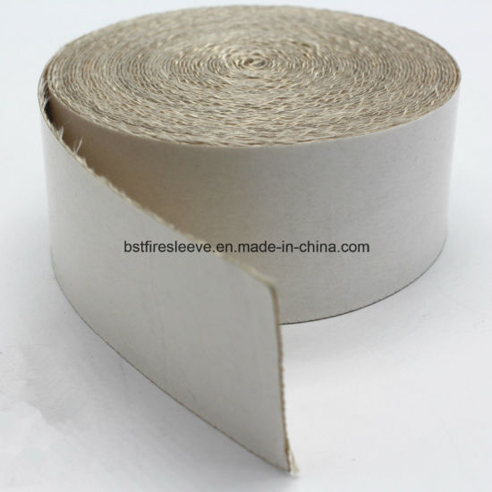 High Heat Resistance Woven Silica Fabric With Adhesive Backing