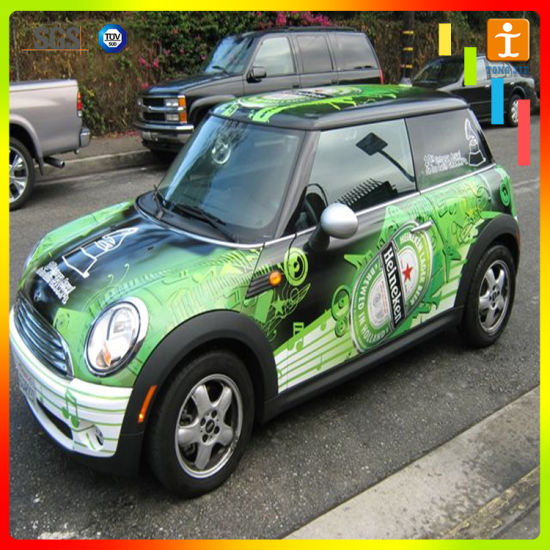 Custom vinyl car sticker for advertising tj 14