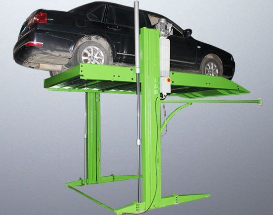 High Quality 2.3t Home Garage Two Post Car Parking Hydraulic Lift