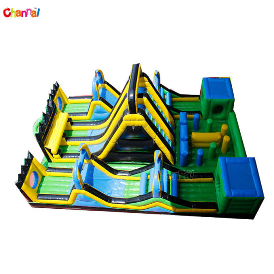 Thunder Force Obstacle Course Commercial Inflatable Adults Obstacle Course pictures & photos
