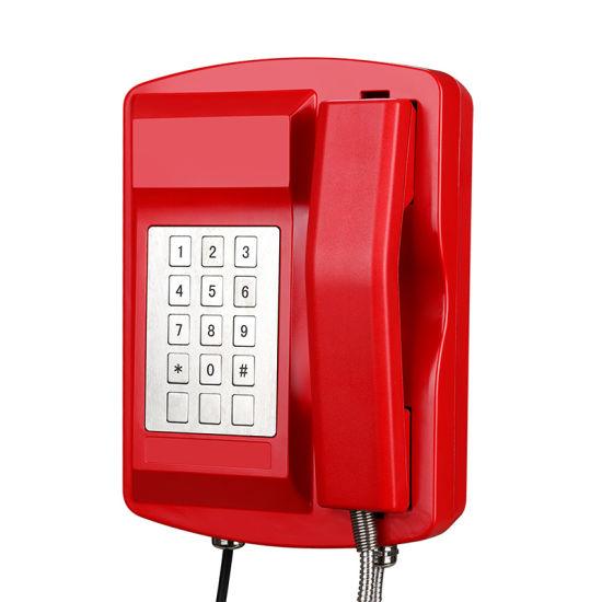 Maritime Emergency Telephone Waterproof SIP Telephone with Loudspeaker Knsp-18