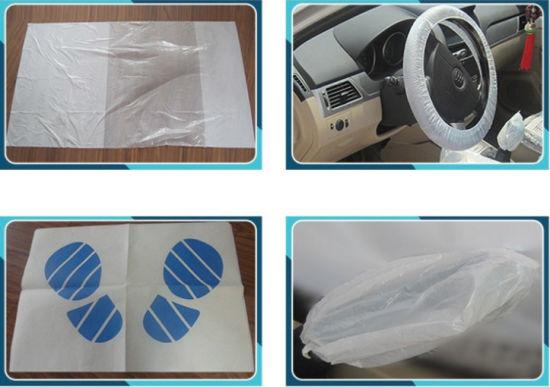 China Disposable Paper Car Foot Mat China Car Foot Mat Paper Foot Mat