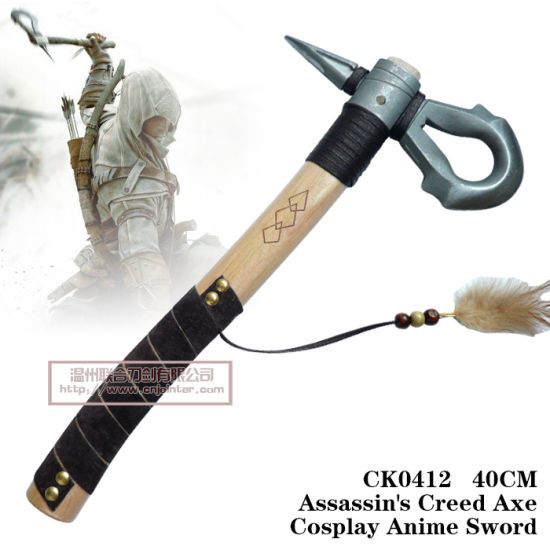 China Assassin S Creed 3 Connor Kenway Axe Tomahawk Hatchet 40cm