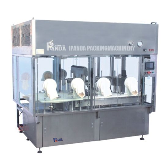 Monoblock Eyedrop Filling Machine Automatic