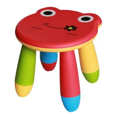Kids Plastic Stool Chair Printed with Animal