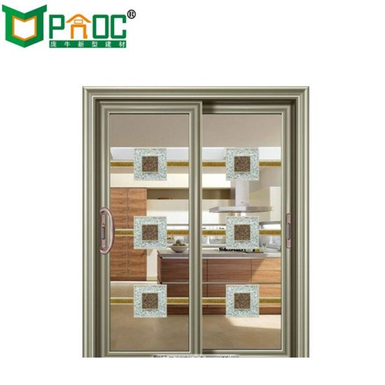 China As2047 Aluminum Glass Sliding Door With Good Quality China