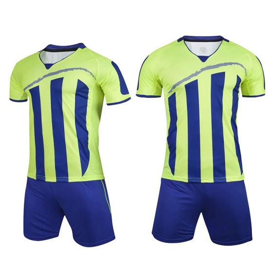 8d0b36efac2 China 2018 Wholesale Full Sublimation Soccer Jerseys Uniform Sets ...