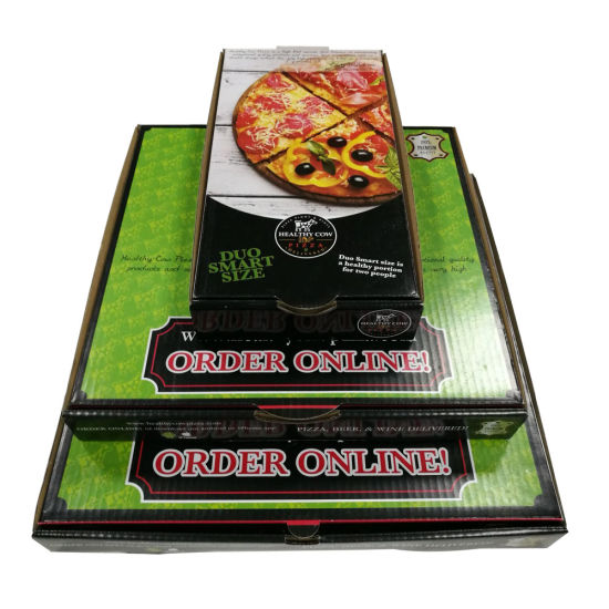 Different Size Pizza Paper Packaging Food Box pictures & photos