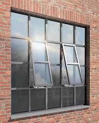Metal Steel French Iron Door and Window with Tempered Glass
