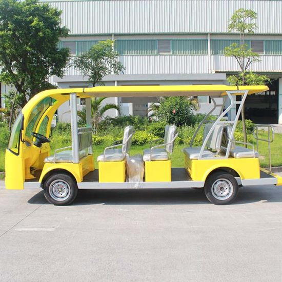 CE Approve Electric Tourist Sightseeing Auto Bus (DN-14) pictures & photos