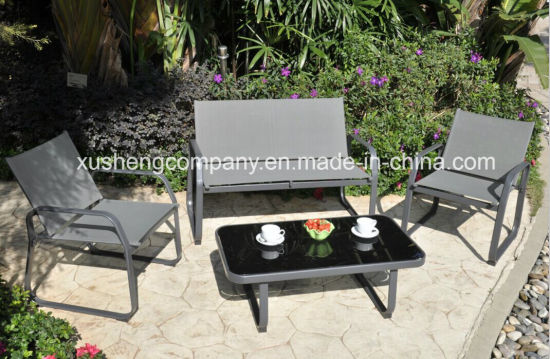 Outdoor Steel Table and Chair Dining Furniture
