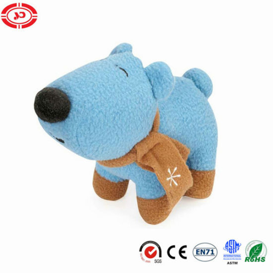 Polar Bear Fleece Blue Cute Soft Plush Kids Gift Toy