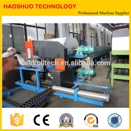 Hot Sale Roof PU Foam Sandwich Panel Making Machine pictures & photos
