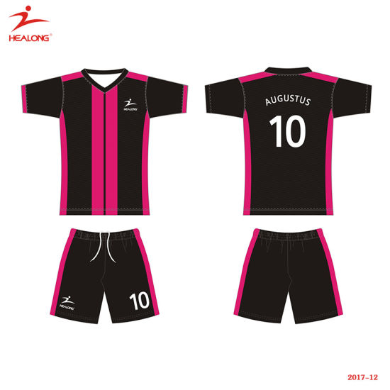 242ce0ea9c8 Healong Top Sale Sportswear Simple Design Customized Sublimation Soccer  Jersey pictures   photos