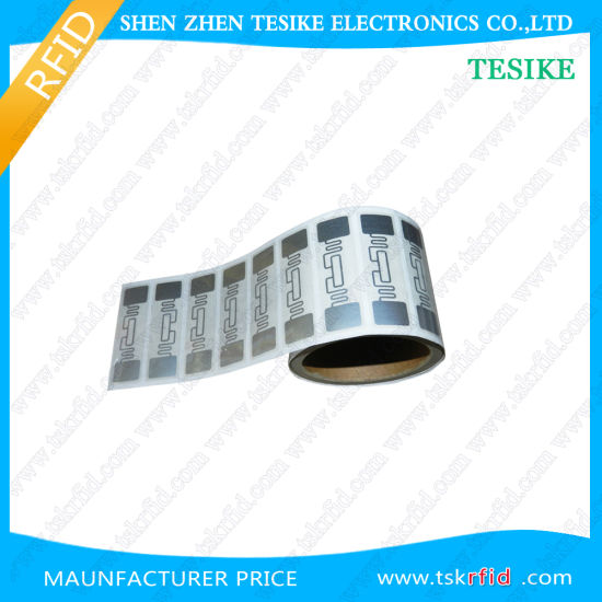 ISO18000 Synthetic Thermal Paper UHF RFID Tag