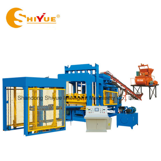 Qt10-15 Low Cost Automatic Cement Block Moulding Machine