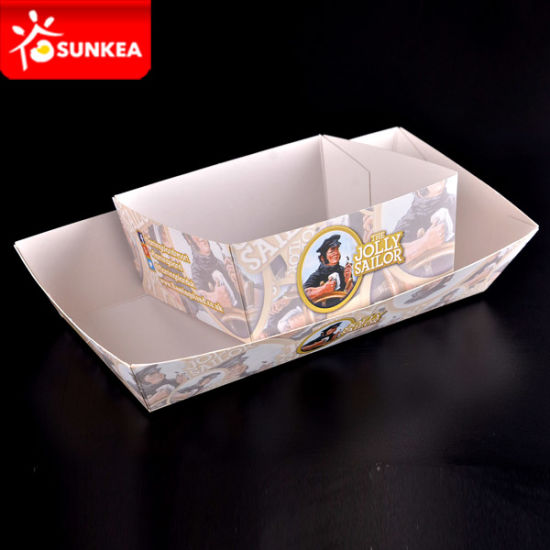 Square Boat Paper Food Tray