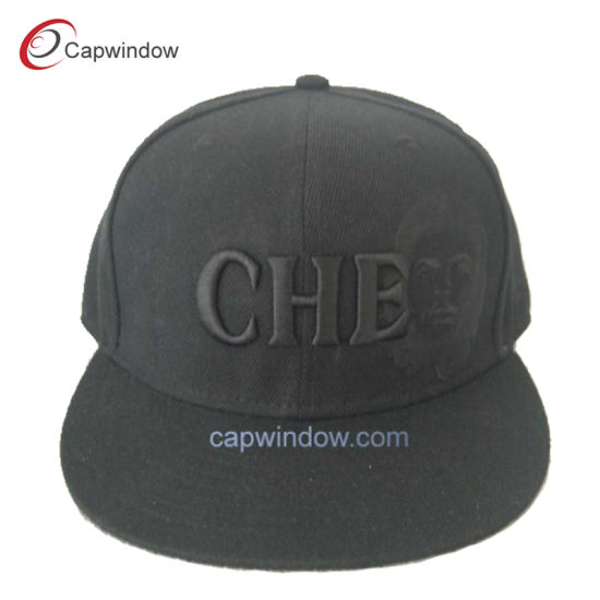eb43dfeb7e0e2 Black Embroidered Snapback Cap for Unisex with Acrylic (CW-0546) pictures    photos