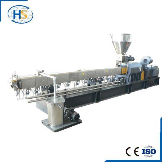 China Nanjing Haisi Tse-135 New Design Twin Screw Extruder Machine