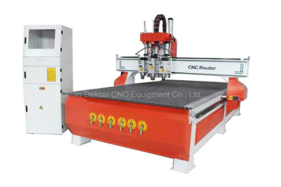 3 Spindle China CNC Router Machine Manufacturer 1325 pictures & photos