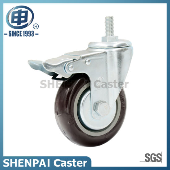 "3"" Nylon Rigid Industrial Caster Wheel pictures & photos"