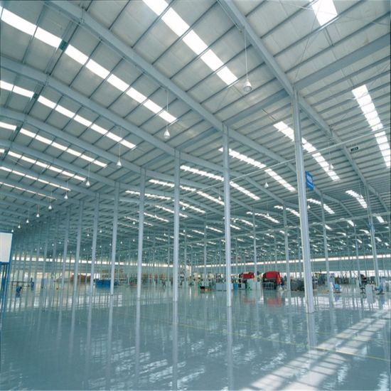 Prefabricated Steel Frame Structure Warehouse in China pictures & photos