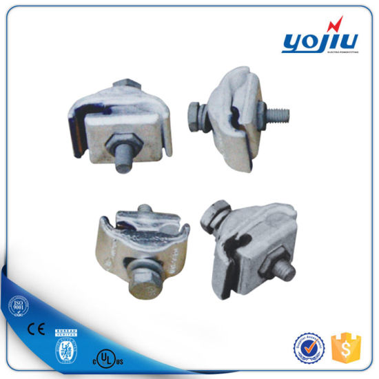 Electric Cable Fitting Double Bolts Parallel Groove Connector Copper and  Aluminium Wire Connector
