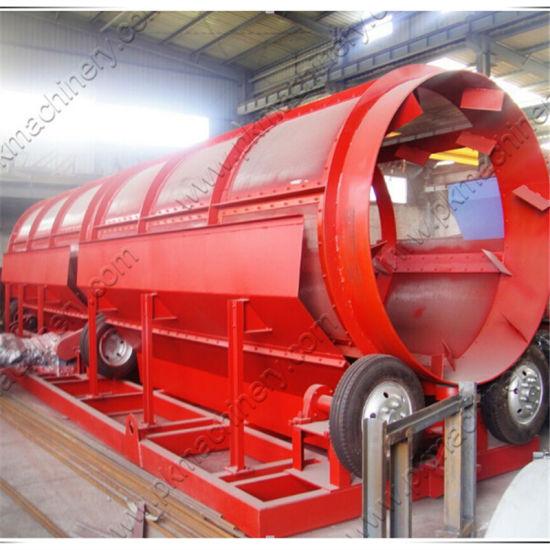 Plastic Quarry Recycling Coal Mining Machine Trommel Vibrating Screen