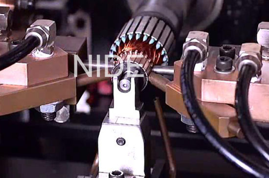 Automatic Armature Commutator Hook Hot-Stacking Machine pictures & photos