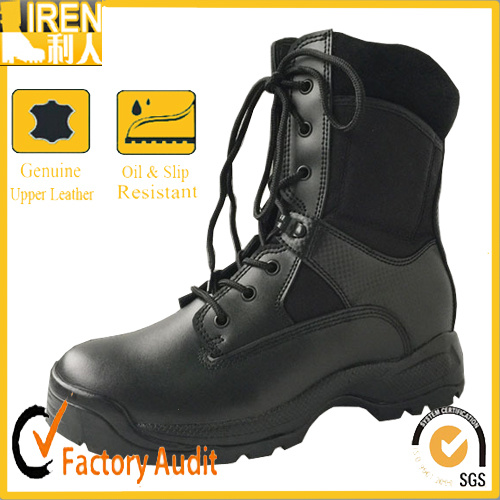 Cow Leather Tactical Boots for Military pictures & photos
