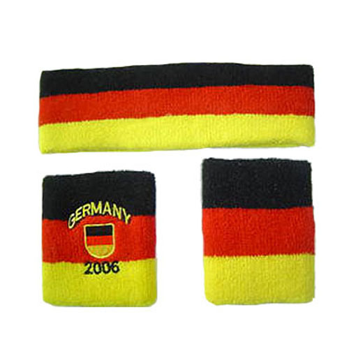 2019 Hot Sale Cheap Headband and Wristband Set