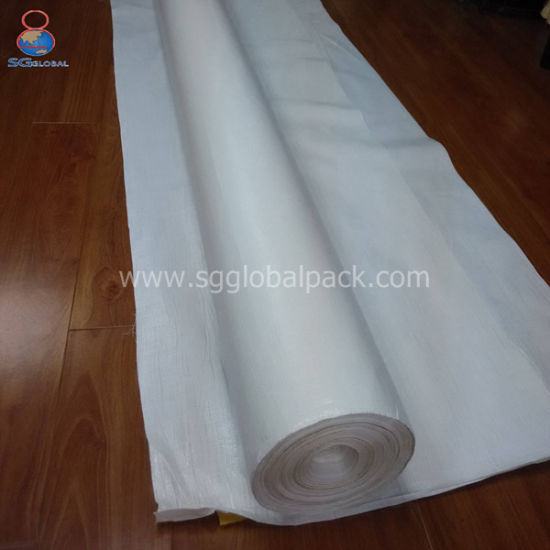 China Wholesale 8FT*600FT White PE Tarpaulin