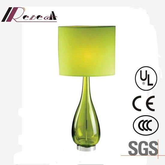 China unique design green glass bedside decorative table lamp unique design green glass bedside decorative table lamp aloadofball Gallery