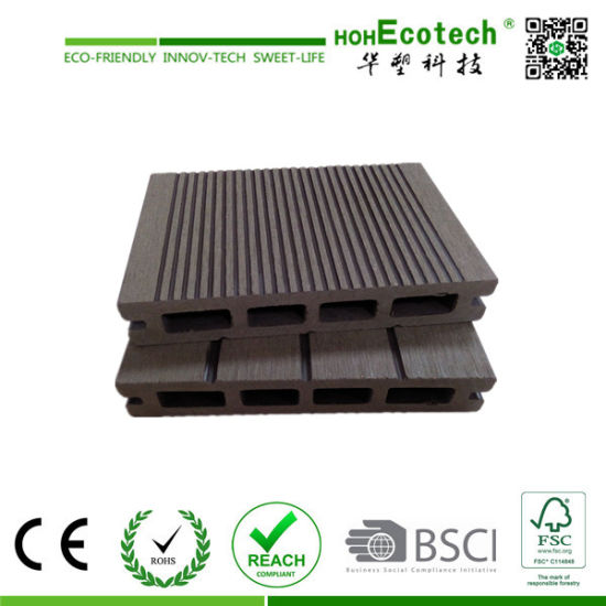 Good Price Wood Plastic Composite WPC Decking for Outdoor Using pictures & photos